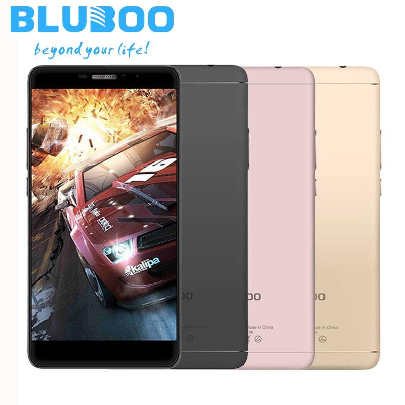 Bluboo Dual MTK6737T teléfono Móvil Quad Core 16G ROM 2G RAM de Doble Cámara de