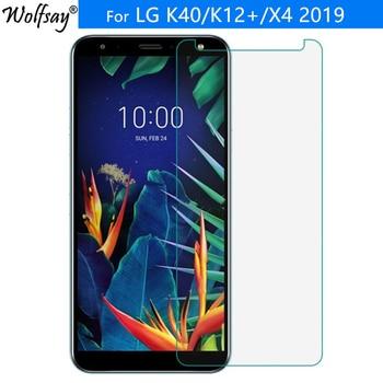 Перейти на Алиэкспресс и купить 2 шт для закаленного стекла LG K40 защита экрана K12 Plus/X4 2019 9 9H закаленное стекло для LG K40 защитная пленка 5,7 дюйма