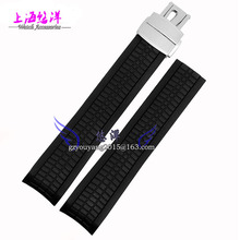 S2015 New Arrival Men Waterproof Black Silicone Rubber stainless steel buckle Watch Wrist watch Strap Band