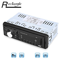 Alta Calidad 1044 Universal de Coches Reproductor de MP3 FM de Radio 1 solo Din Apoyo tarjeta SD USB Control Remoto de Música LED pantalla