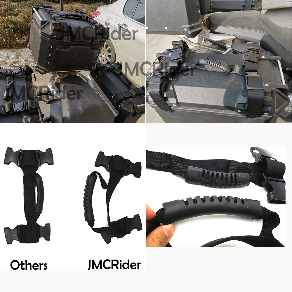 JMCRider Side handle Aluminum alloy side font b box b font For BMW R1200GS R1200 GS