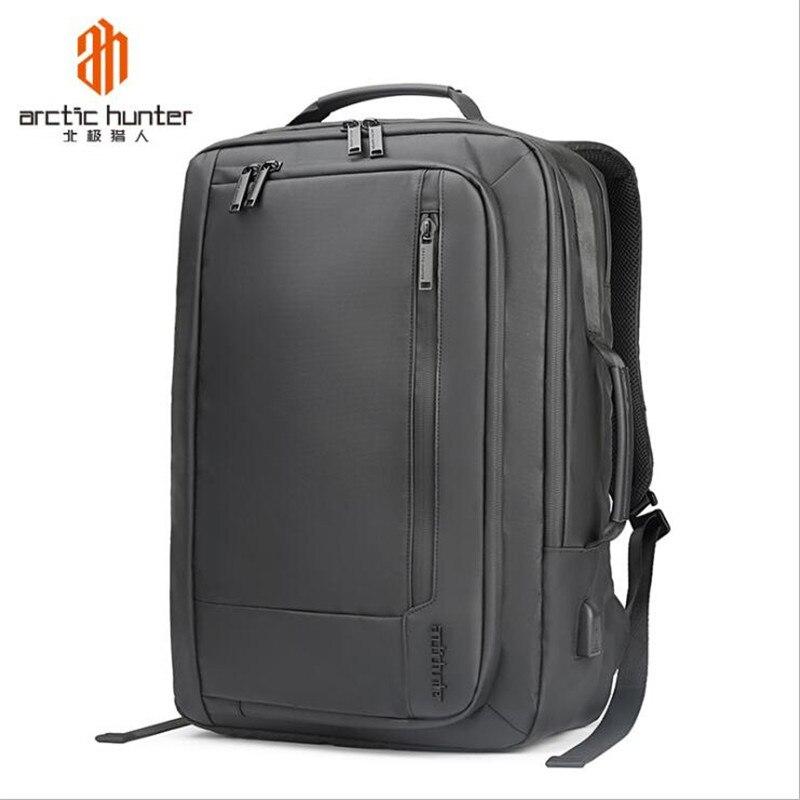 Arctique Hunter 2019 ordinateur portable Usb sac à dos sac d'école Anti-vol hommes pour 17 pouces sac à dos sacs de voyage homme loisirs sac à dos Mochila