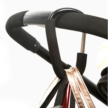 7 kolory wózek spacerowy hak wózek na zakupy akcesoria wózek hakowy wieszak na Baby Car wózek buggy tanie i dobre opinie JJOVCE OSM878116-1 Aluminium Wyprodukowane w Chinach