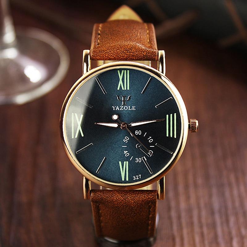 2017 Cuarzo 327 Relojes de Los Hombres Relojes de Primeras Marcas de - Relojes para hombres