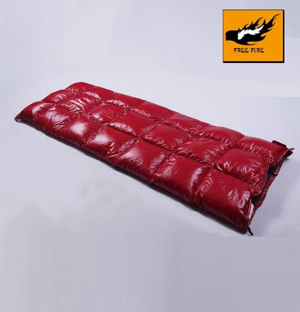Sleeping Bag WinterUltralight Camping Envelope Lightweight Ultralight FREE FIRE
