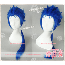 Cu Chulainn Cosplay Wig Fate Grand Order Berserker Prototype Stay Night Straight Pigtail Synthetic Hair