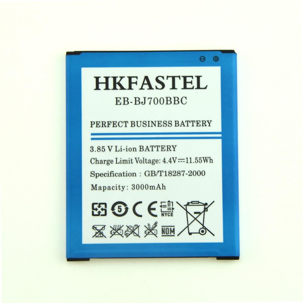 HKFASTEL Nouveau EB-BJ700BBC Pas NFC Mobile Téléphone Batterie Pour Samsung Galaxy J7 J700 J700F J700M J700H ON7 G600FY G600S G600 G6000