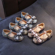 2019 New Style baby girl princess shoes Kids Toddler Infant Girls fashion Crystal shinning Single Party Princess walk Shoe