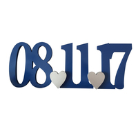 Large Date Sign Save The Date Photo Prop Sign for Engagement Photography Wedding wedding decoration diamond painting