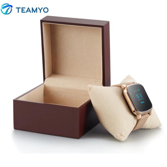2016 criança gps rastreador gsm smart watch bluetooth smartwatch sos botão criança Segura Relógio Cartão SIM Suporte Chamada SMS Localizador gps T58