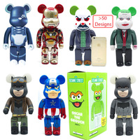 Bearbrick Figure Collections Be@rbrick 400% Vinyl Action Figure Collectible Model Toys Gifts 28CM