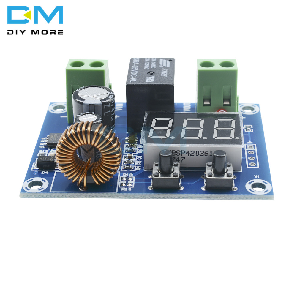 Image 2 - XH M609 DC 12V 36V Charger Module Voltage OverDischarge Battery Protection Precise Undervoltage Protection Module  Board-in Integrated Circuits from Electronic Components & Supplies