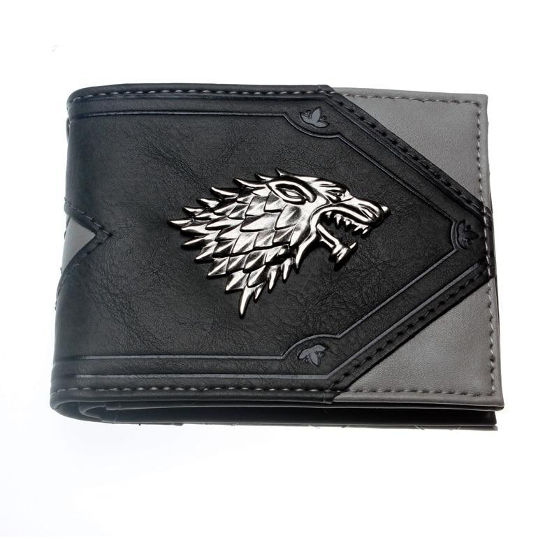 Game of Thrones portefeuille femme porte monnaie homme DFT-3153