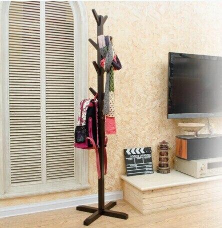 estilo europeo blanconegro perchero 100 madera racks stand muebles de sala de madera muebles para el hogar decoracin en percheros de muebles en - Perchero De Madera