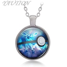 Pokemon Go Pocket Monster series Pocket Monster ice elf baby Jewelry Chain Necklace Women Men Best Gift(China)