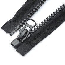 543ab90675b  8 60-300 cm largo resina cremalleras para coser tiendas chaqueta abrigo  chaqueta bolsas