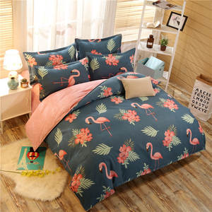 NATURAL KISS 4pc Bedding Set Duvet Cover Bed Sheet