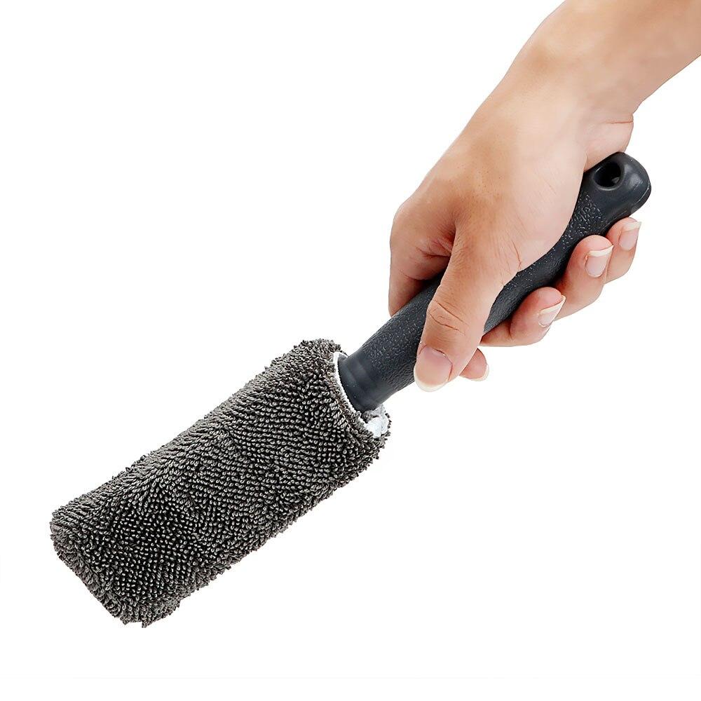 Vehemo 9 шт. автомобильный комплект для мытья автомобиля Комплект для чистки автомобилей Полировка Универсальный диск для покрытия воском кисть для уборки машины принадлежности для домашнего уборки