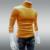 2016 Inverno Mens Camisolas de Gola Alta Branca Pullovers Camisola Para Homem Vestuário De Malha De Algodão Blusas Masculinas Puxar Hombre XXXL 50
