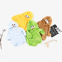 preax Cartoon Clothes Long-sleeved Baby Bodysuit