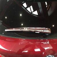 WELKINRY Авто покрытие Стайлинг для Lexus NX 2015 2016 ABS хром заднее окно лобовое стекло стеклоочиститель крышка отделка