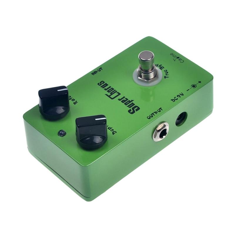 Caline CP-13 Super Chorus Guitar Effect Pedal True Bypass Design - Երաժշտական գործիքներ - Լուսանկար 4