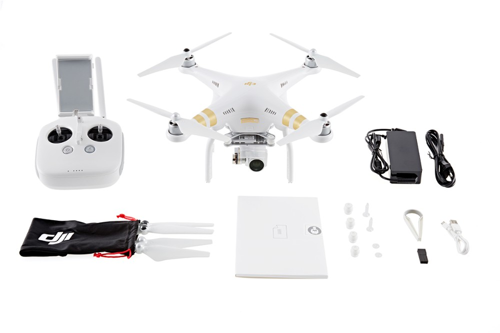 Free Gifts Original DJI Phantom 3 4K Quadcopter Helicopter RC Drone VS Phantom 3 Professional Advance DHL EMS Free