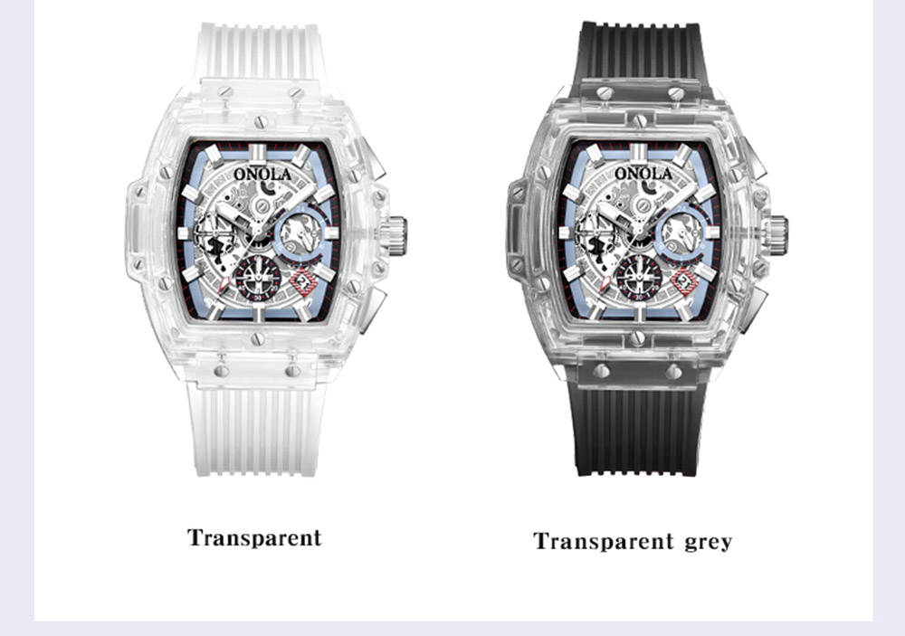 Transparent Dial Watches10