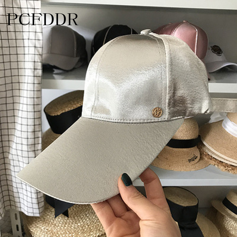 Sun Hat Excellent Quality Long Eaves 2018 Spring And Summer New Style 2019 Latest Design Pcfddr Small M Baseball Cap Duck Cap Mercerizing