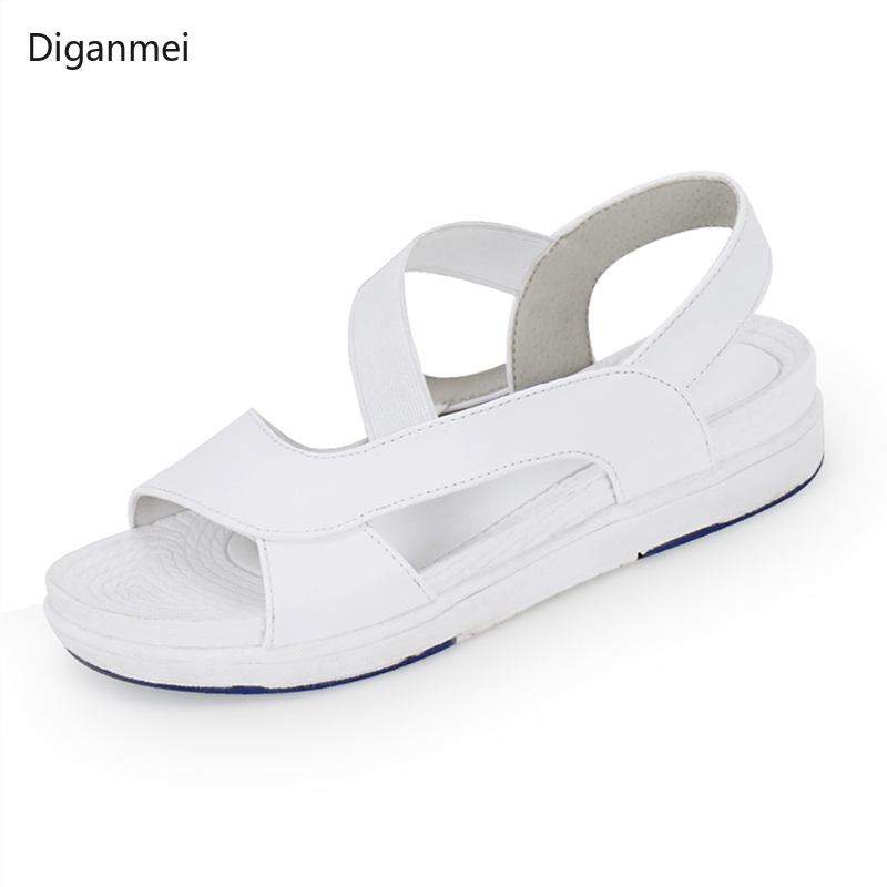 2019 Summer Medical Work Sandals Clean Surgical Surgery Shoes Nursing Clogs  Operating Room Non-slip Shoes Nurses Clogs