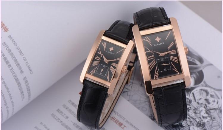Simple Fashion Couples Quartz Watches Classic Business Style Couples Dress Wrist Watch Vintage Roman Relogio 5ATM Montre Femme