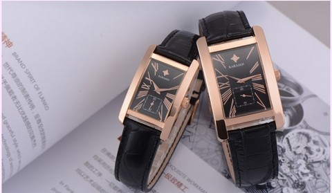 Relógios de Quartzo Estilo de Negócios Relógio de Pulso do Vintage Moda Simples Casais Clássico Vestido Roman Relógio 5atm Montre Femme