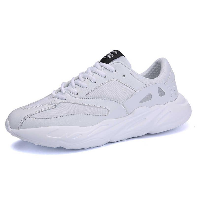 ac121a2b6a7a ... 2019 мужские легкие кроссовки для бега, дышащая спортивная обувь,  нескользящая дорожная обувь для мужчин ...