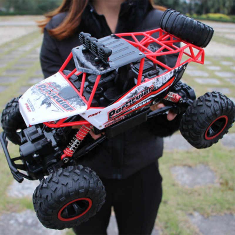1:12 4WD RC coches versión actualizada 2,4G Radio Control RC coches juguetes 2018 camiones de Alta Velocidad fuera de carretera camiones de juguete para niños