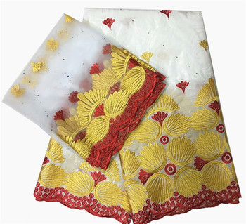 Wholesale Price! african fabric basin riche getzner bazin brode getzner 2019 dentelle tissu nigerian lace material high quality