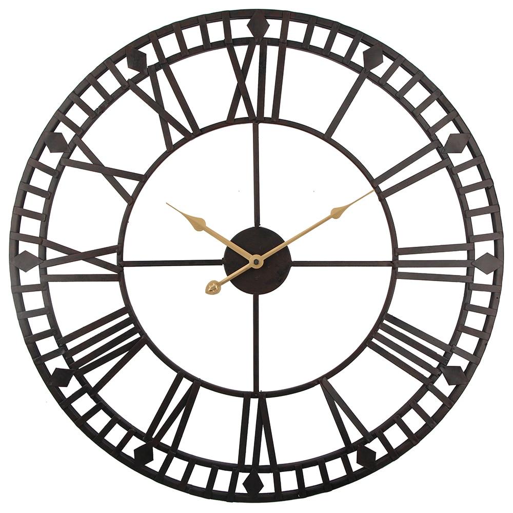 Vintage orologio da parete 60 centimetri di grandi for Orologi da parete grandi dimensioni