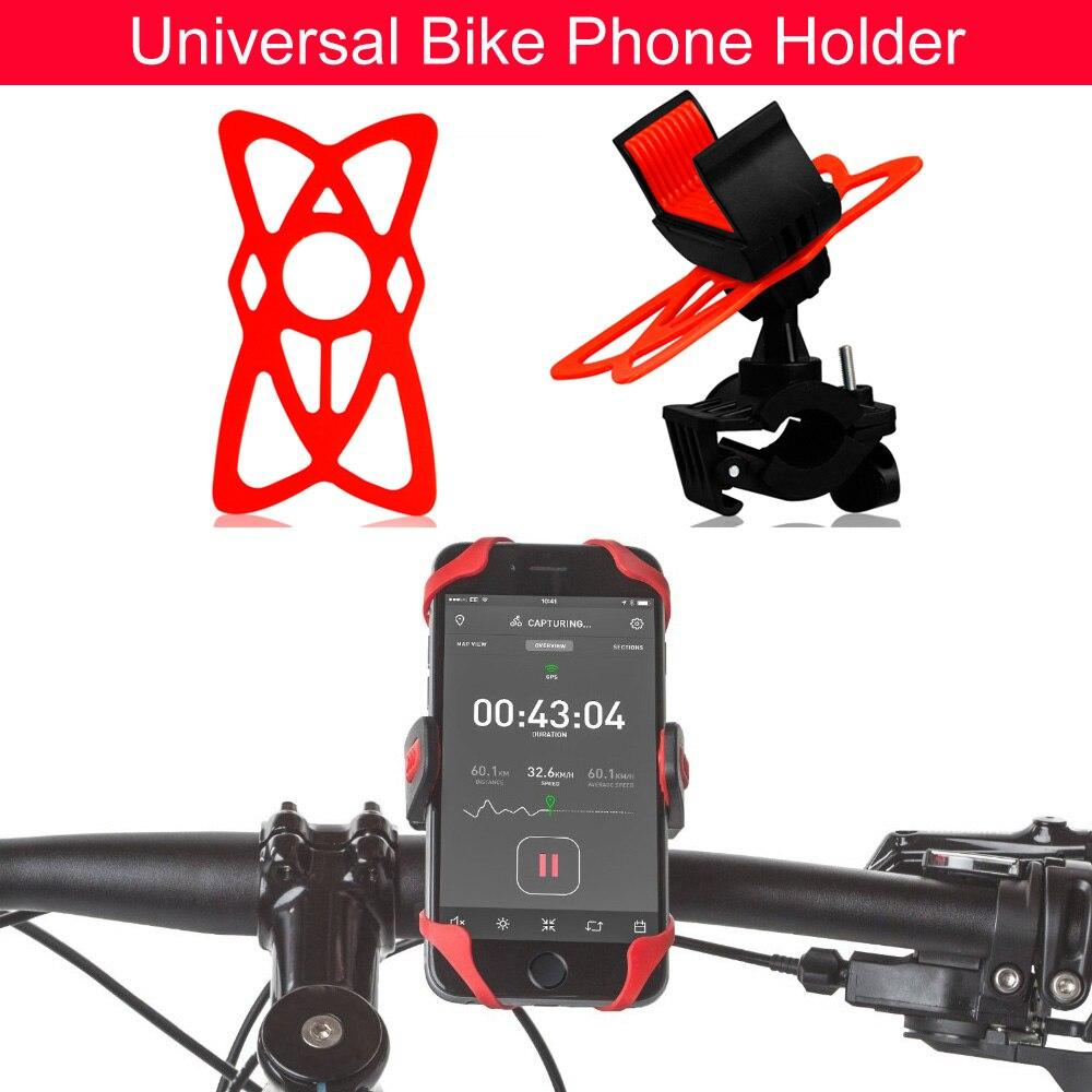 Titular de Teléfono Universal 360 Rotating a prueba de Golpes MTB Manillar de La