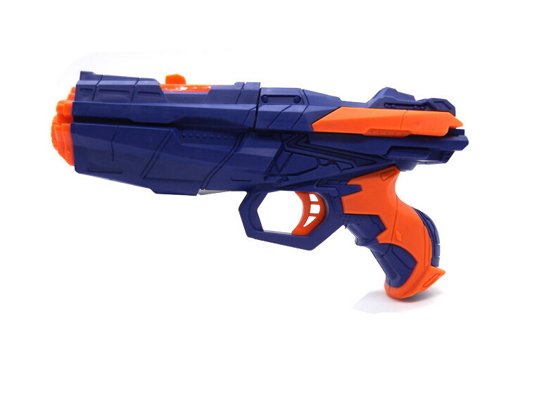 Water Crystal Gun 2 in 1 Paintball Pistol & Soft Bullet Gun Air Soft Gun Toy