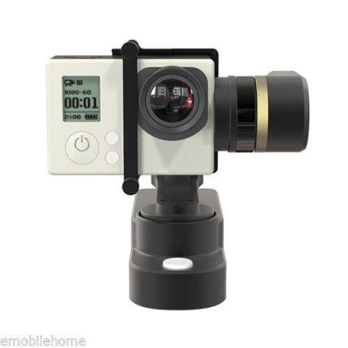 FeiYu FY-WG cardan portable 3 axes pour GoPro HERO 4/3 +/3 caméra Xiaoyi AEE U