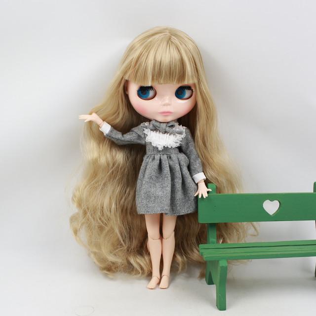 Tvornica Neo Blythe lutka Blonde kose spojnice bez tijela 30 cm