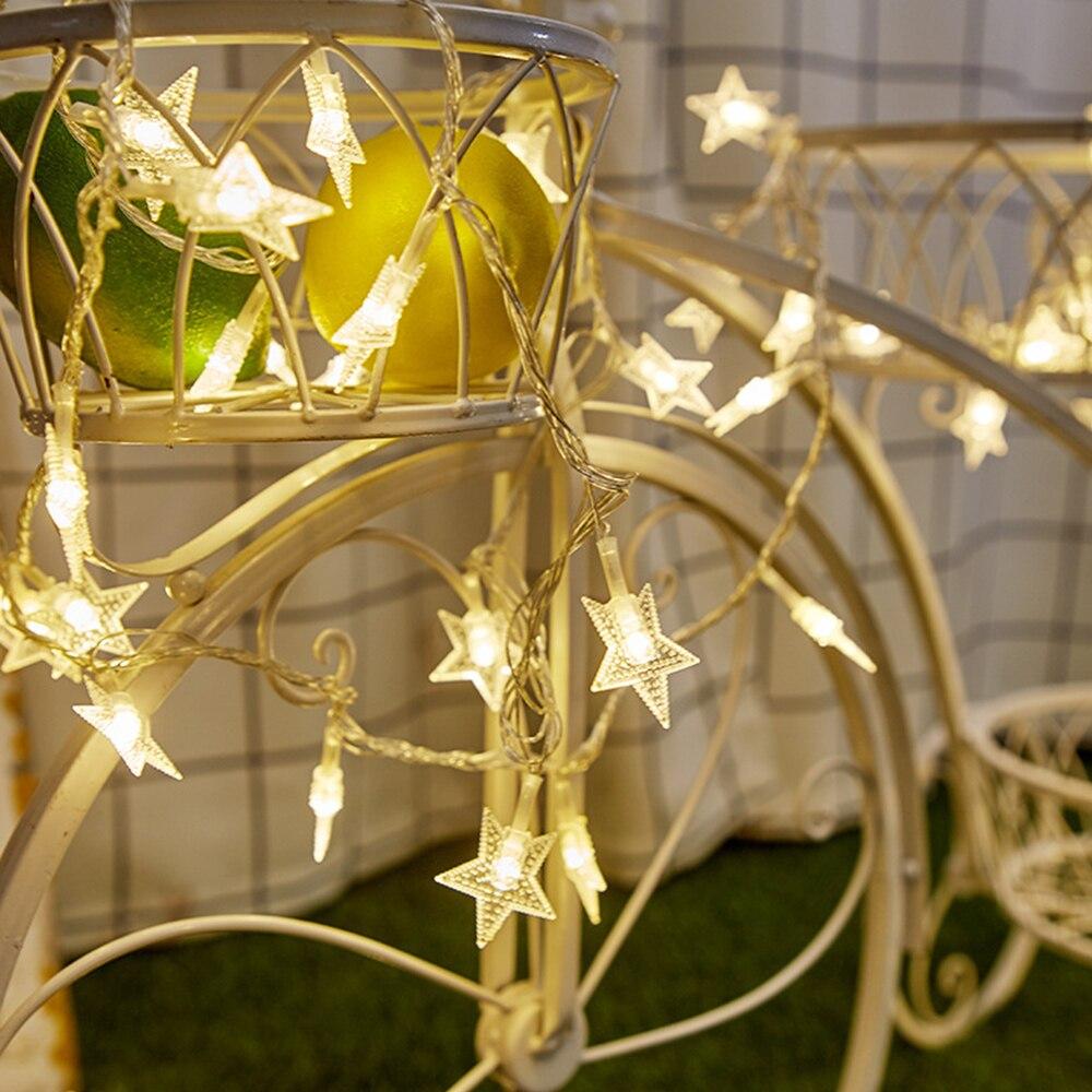 Сказочная гирлянда для свадьбы, 10LED, сказочный светильник для сада и двора, прочный Сказочный светильник, круглый шар, праздничный уличный ландшафтный светильник