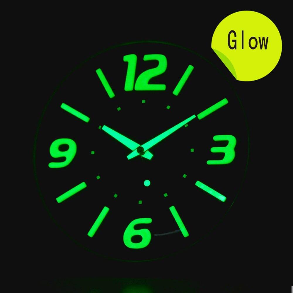 popular glow wall clock buy cheap glow wall clock lots