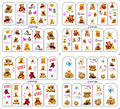 100 unids/lote envío gratis BOP180-183 etiqueta engomada del clavo Watermark muñeca del oso