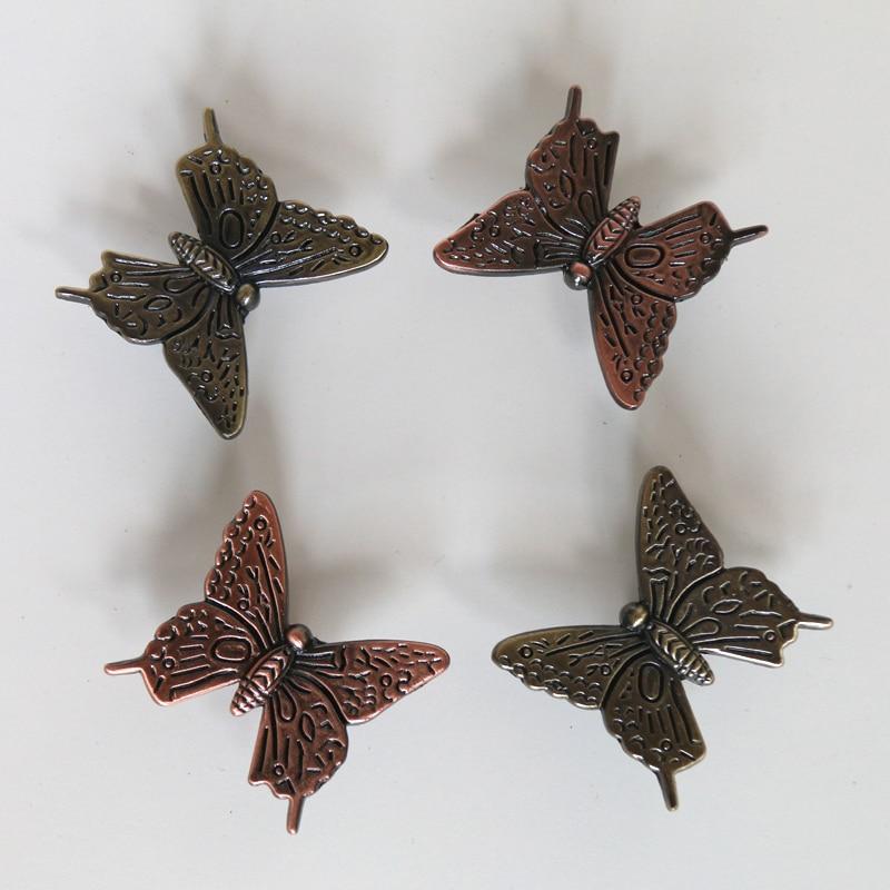 Online Shop 42mm vintage dresser pulls antique butterfly cabinet ...