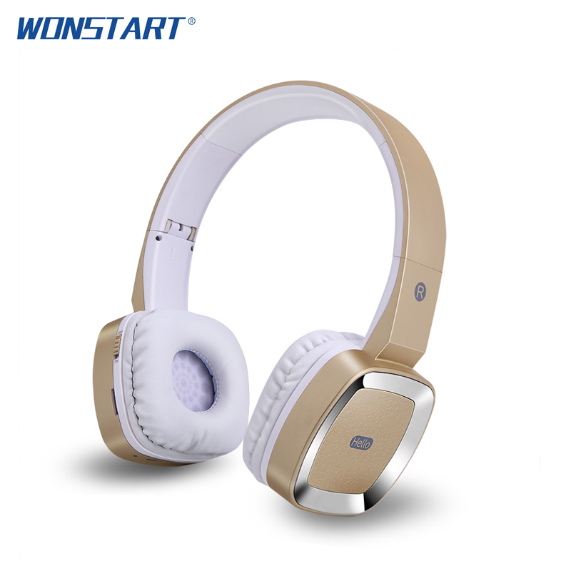 Wonstart Wireless Headphone Bluetooth Over Ear Headphones Wired and Wireless Headset With Mic for iphone xiaomi huawei oppo remax 2 in1 mini bluetooth 4 0 headphones usb car charger dock wireless car headset bluetooth earphone for iphone 7 6s android
