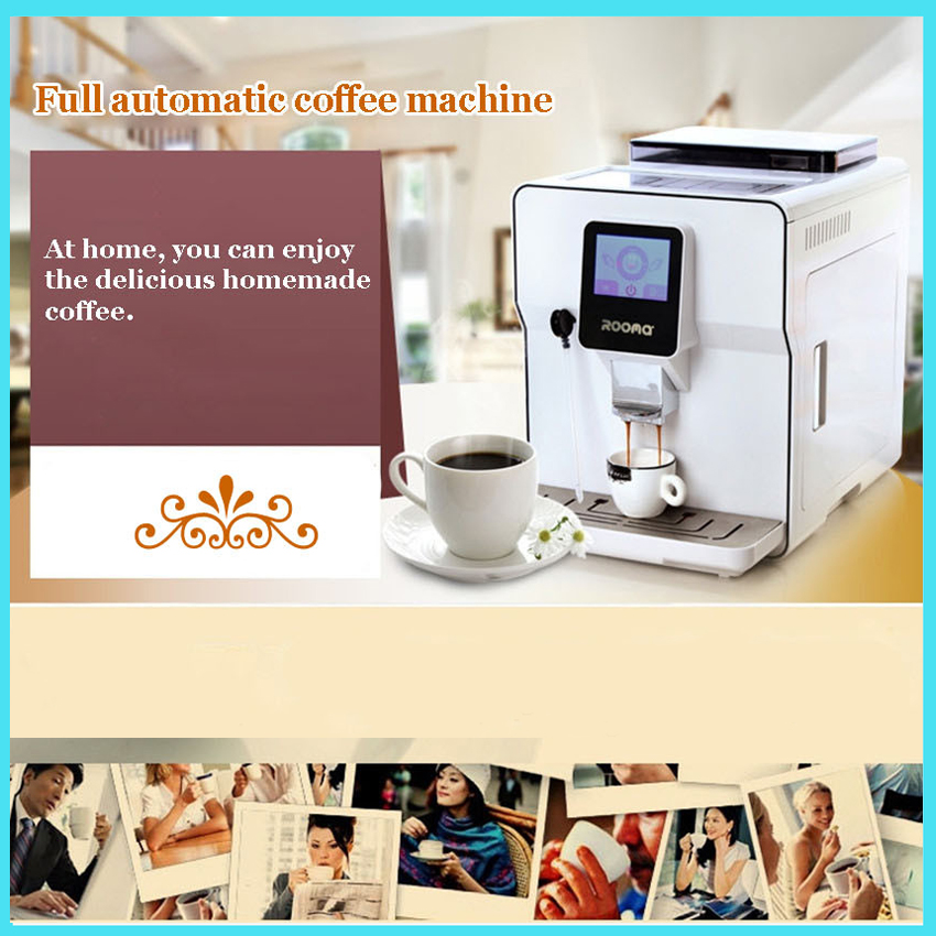 fully automatic coffee machine cafe machine coffee maker espresso cappuccino coffee machine with. Black Bedroom Furniture Sets. Home Design Ideas