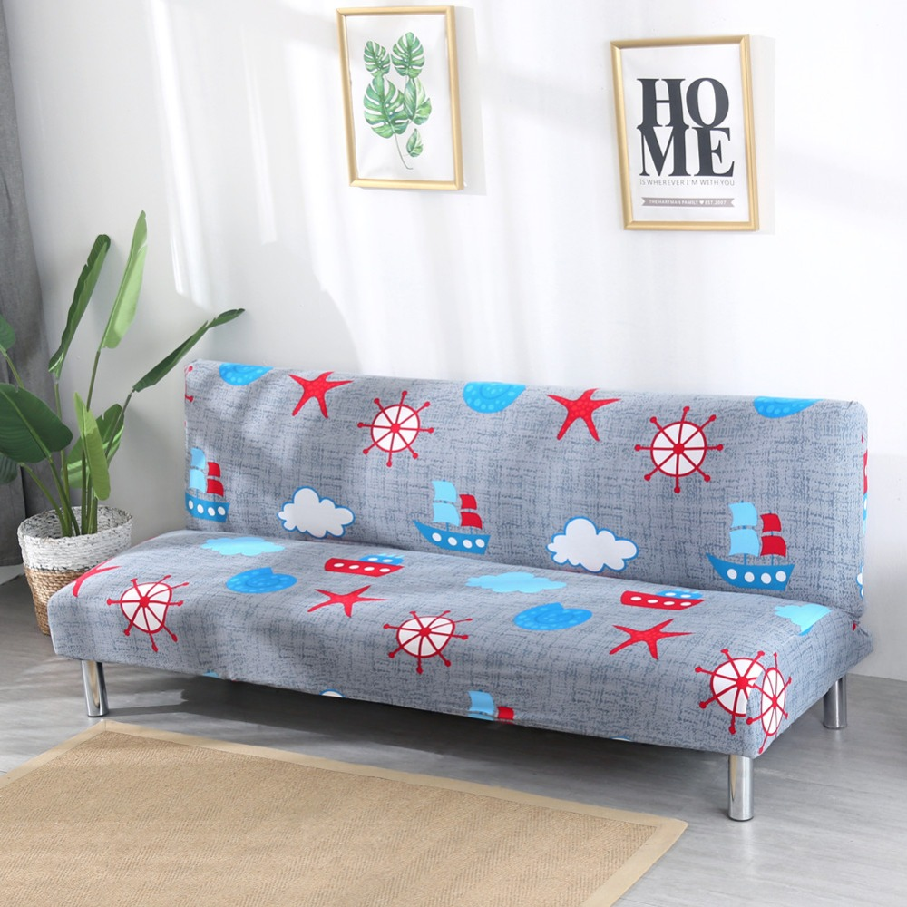 Sectional Sofa Covers Without Armrests Tight Wrap slip-resistant covers for sofas bed 155-200cm funda de sofa tres plazas
