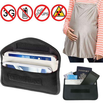 Anti Spy Signal Blocker Pouch Stop Cell Phone GPS RFID Tracking Bugging Bag Protect Your Privacy for UMIDIGI C NOTE Case Cover