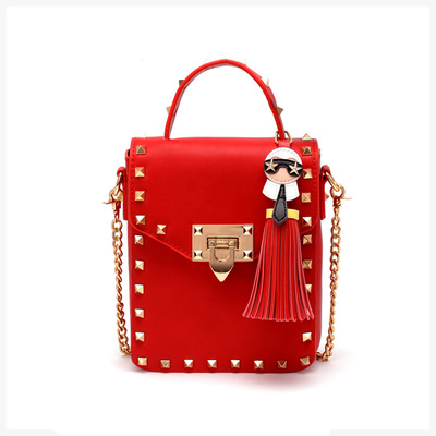 Compare Prices on Red Studded Handbag- Online Shopping/Buy Low ...