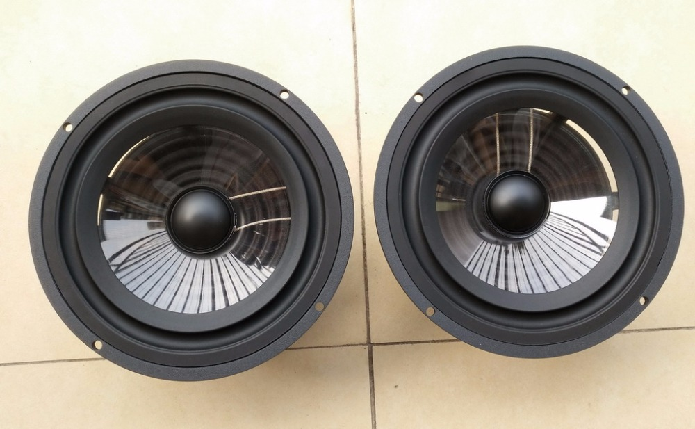 pair vienna-acoustics Bach Grand 7 inch crystal x3p cone midbass woofer (Melo David)